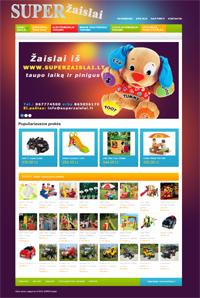 Super žaislai – žaislai vaikams