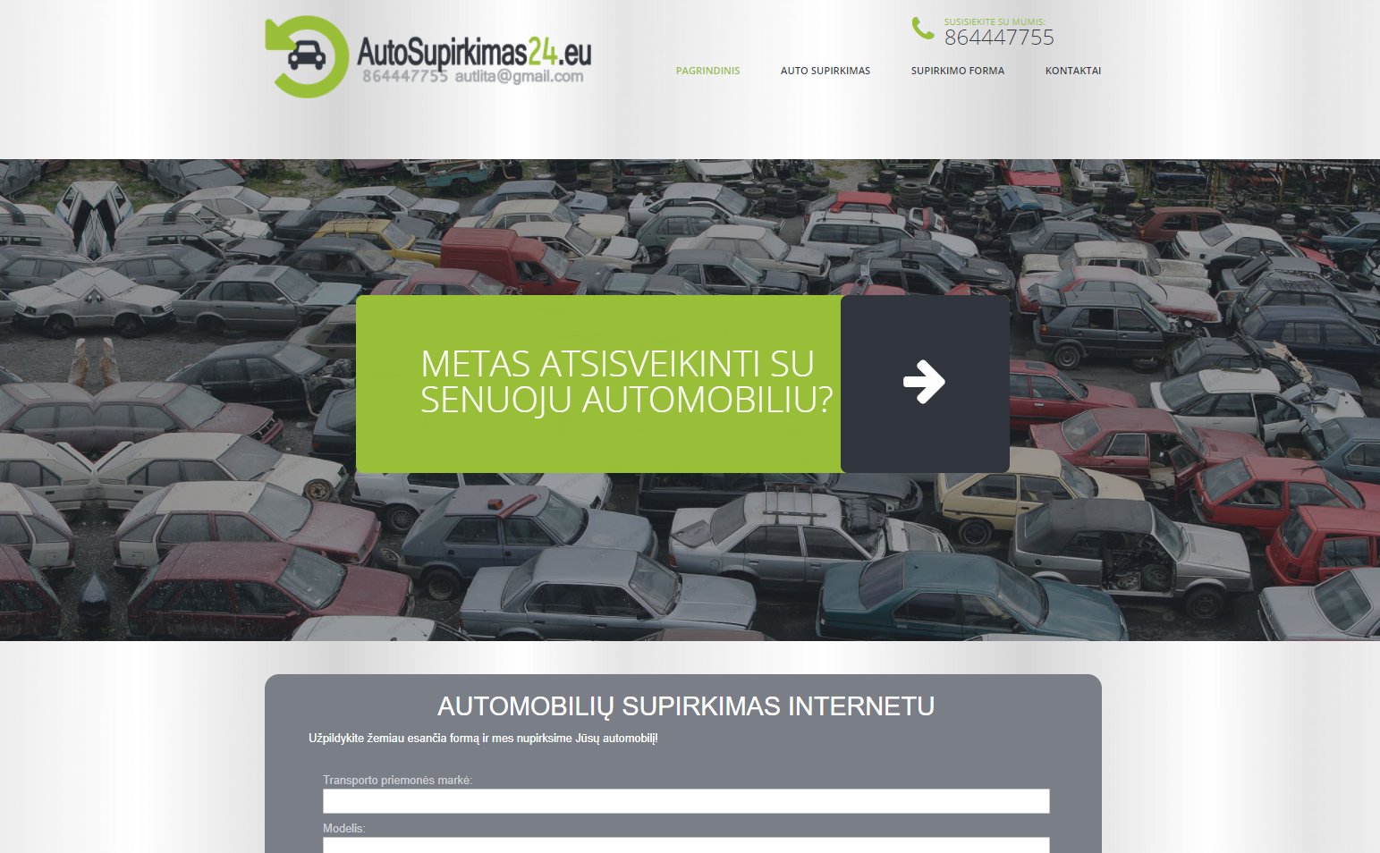 Automobilių supirkimas 24
